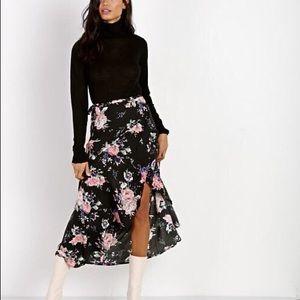 Auguste Wild Rose Wrap Skirt